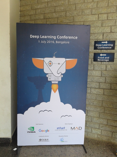 Deep Learning Conference 2016 poster