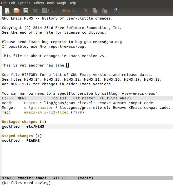 Shakthimaan's Blog | GNU Emacs - HTML mode, indentation and Magit